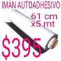 Iman Flexible Autoadhesivo 61cm Rollo 5 Mts Z/oeste
