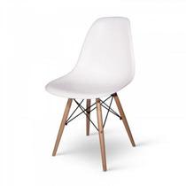 Cadeira Charles Eames Eiffel Dsw Wood - Base De Madeira