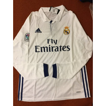 Jersey Real Madrid Manga Larga 2016-2017 Envio Gratis!!