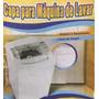 Capa Maq Lavar Napa Impermeavel Super Resist,eletrolux 15kg