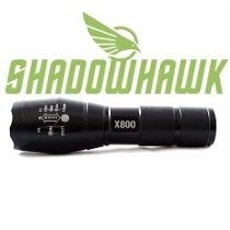 Linterna Shadowhawk Envio Gratis X800 C/2 Pilas Recargables