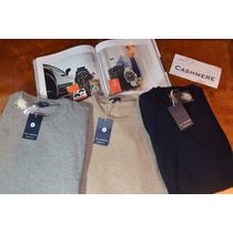 Finas Y Hermosas Chompas 100% Pure Cashmere Made In Italy