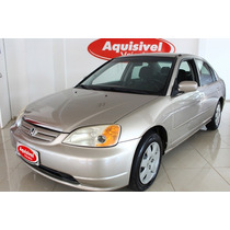 Honda - Civic Sedan Lx-at 1.7 16v Basico