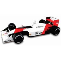 Formula 1 Mclaren Mp4/4 1988 Ayrton Senna Esc 1/43 Die Cast