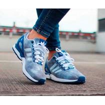 Zapatos Adidas Orginals Zx Flux Mujer Originales