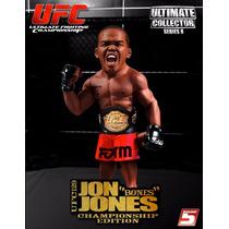 Jon Jones Com Cinturão De Campeão - Ufc - Round 5 - Novo