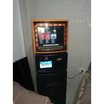 Bartop Gabinete Para Jukebox Monitor 15 Polegadas
