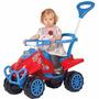 Quadriciclo Infantil A Pedal Kid Cross Vermelho - Calesita