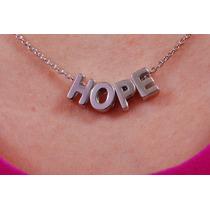 Precioso Dije Con Cadena Hope , ¡el Regalo Perfecto! 31613