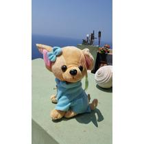 Perro Chihuahua Precioso Muñeco De Peluche