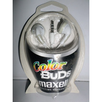 Audifonos Color Buds Maxell
