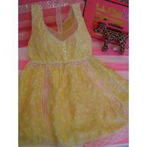 Victorias Secret The Pink Vestido Para La Playa Seda Sz S