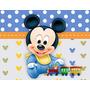 Painel Mickey Baby (oferta 8 Paineis Com 1,50 X 1,20m)
