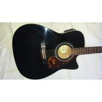Violão Comprado Na Espanha Elétrico Folk Yamaha Fx370c Bl