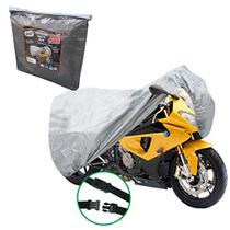 Funda Cubre Moto Impermeable Bolso Con Cierre Cobertor