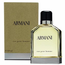 Perfume Masculino Armani Pour Homme 100ml Original