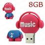 Pen Drive Music 8gb Usb 2.0