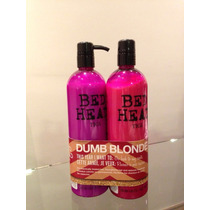 Bed Red Tigi Dumb Blonde Shampoo E Condicionador 750 Ml