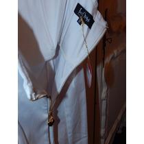 Vestido Blanco Las Oreiro Ideal Novias! -boda Civil-