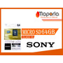 Micro Sd 64gb Sony Class10 Original Por Mayor Y Menor