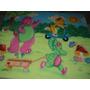 Painel De Tecido Com Tema Decorativo De Festa Infantil