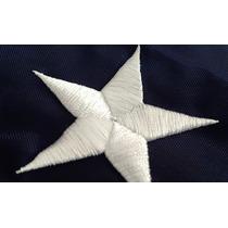 Bandera Usa Estados Unidos 1.5x90cm Cosida Estrella Exterior