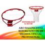 Aro 5/8 Reforzado Basket Baloncesto Tablero Mayor Detal