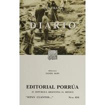 Libro Diario De Ana Frank