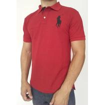 Camisa Gola Polo (camiseta) Kit C/5 Peças Ralph Lauren