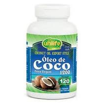 Óleo De Coco Extra Virgem Unilife 60 Cápsulas Top