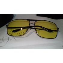 Óculos Night Drive Lentes Amarela Armação Tamanho Médio