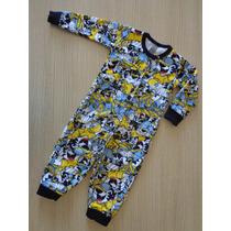Pijama Infantil Tigor T Tigre Baby Estampado
