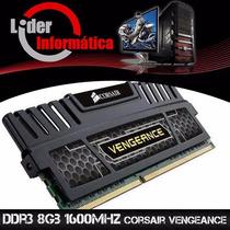 Memória Ddr3 8gb 1600mhz Corsair Vengeance Ótimo Preço!!!