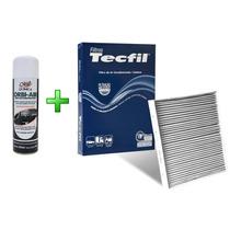 Filtro Ar Condicionado + Higienizador Polo Classic 97/02