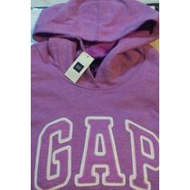Poleron Gap Mujer Original Talla S 030 Morado
