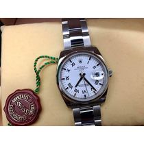 Rolex Date Oyster Perpetual Caballero Mod Nuevo Impecable