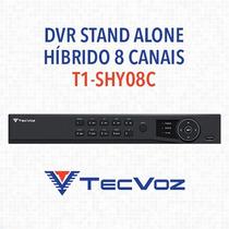 Dvr Stand Alone Híbrido 8 Canais Tecvoz T1-shy08 - Hdmi/sata