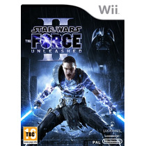 Star Wars Force Unleashed Wii Europa Sistema Pal