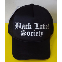Boné Black Label Society Bls Trucker Cap Tela