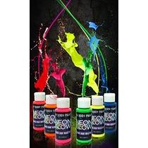 Resplandor De Neón En El Cuerpo Oscuro Pintura # 1 Premium S