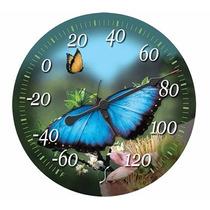 Termómetro Al Aire Libre De 12 La Mariposa Springfield