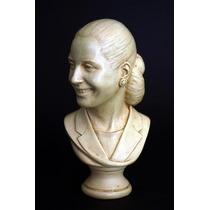 Evita * Eva Peron Busto Escultura Original Regalo 12 Cuotas