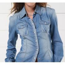 Camisa Jeans Feminina Para Gordinha- Em Oferta Frete Grátis