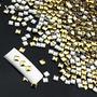 Pacote 1.000 Unid.tachinha Quadrada 3d Cor Dourado