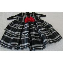 Vestido De Festa Infantil 12 Meses Comprada Usa Lindo