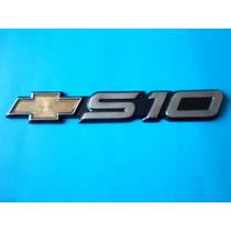 Emblema S10 Camioneta Chevrolet S-10