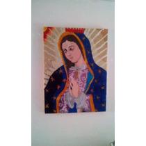Cuadro Virgen En Venecitas