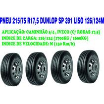 Pneu 215/75r17,5 Dunlop Sp391 Liso 126/124m Promoção