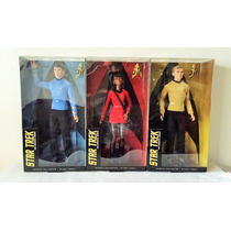Coleccion Star Trek Barbie Colection Black Label 50 Aniversa