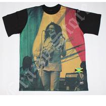 Camiseta Chronic 420 Bob Marley Reggae Roots Crazzy Store